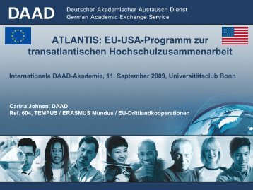 ATLANTIS - Internationale DAAD-Akademie (IDA)