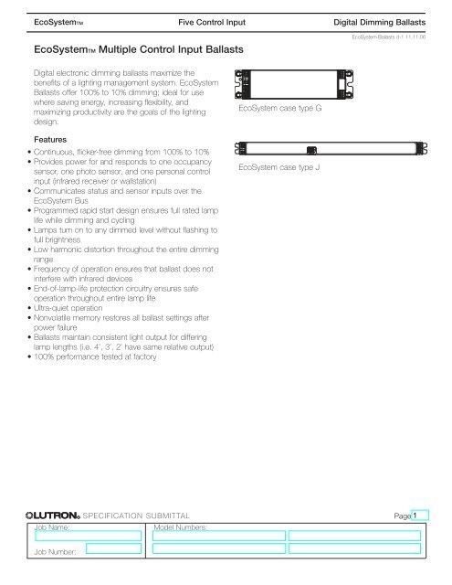 lutron ecosystem ballast wiring diagram ecosystem ballasts b lutron  ecosystem ballasts b lutron