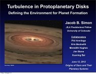 Turbulence in Protoplanetary Disks - McMaster Origins Institute
