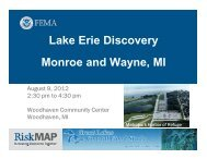 Lake Erie Discovery Monroe and Wayne, MI  - State of Michigan
