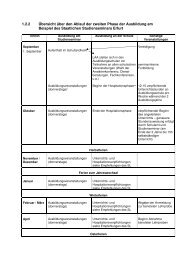 1.2.2 Übersicht über den Ablauf der zweiten Phase der ... - Platlaus.de