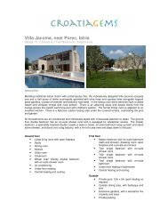 Villa Jacoma, near Porec, Istria - CroatiaGems