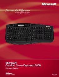 Comfort Curve Keyboard 2000
