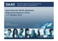 P-Verfahren - Internationale DAAD-Akademie (IDA)