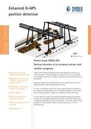 Enhanced D-GPS position detection Data Sheet - Symeo