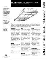 DCTB -DEEP CELL RECESSED T-BAR