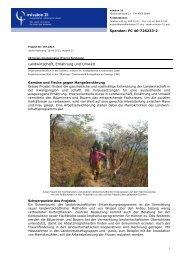 Landwirtschaft, Ernährung und Umwelt - Mission 21
