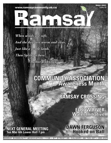 March 2007 - Ramsay Community Association