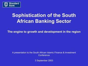 3 September 2003 - Standard Bank - Investor Relations