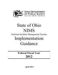 Ohio Emergency Management Agency - State of Ohio