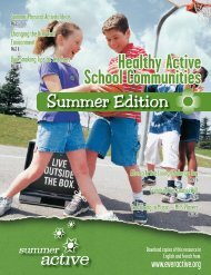 Healthy Active 2008 Summer COVER.indd - Ever Active Schools