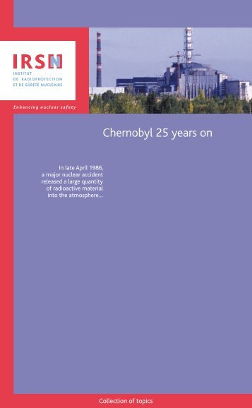 Chernobyl 25 years on - IRSN