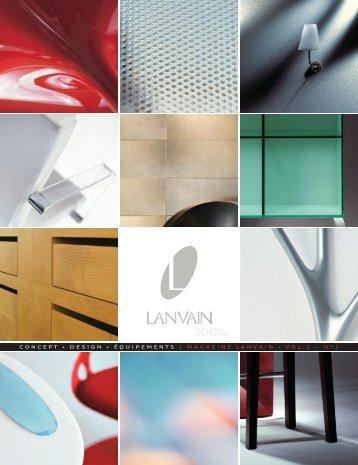 Magazine Lanvain - Concept JP
