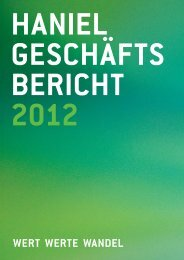 Konzern - Haniel Geschäftsbericht 2012