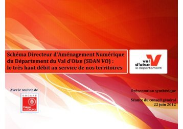 Presentation synthetique du SDAN VO - Val d'Oise