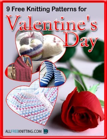Valentines Day e-book - AllFreeKnitting.com