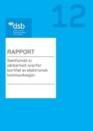 Download PDF - Direktoratet for samfunnssikkerhet og beredskap