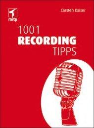 Inhaltsverzeichnis - Mitp