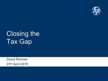 Closing the Tax Gap - EPMA