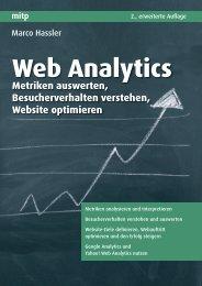 Web Analytics Metriken auswerten, Besucherverhalten ... - Mitp