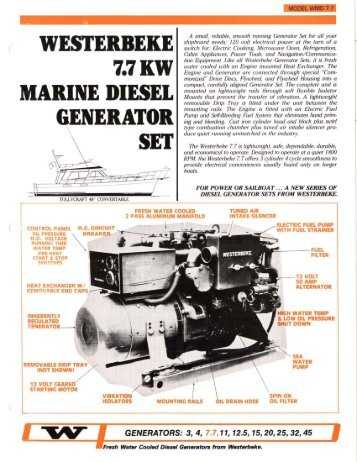Installation manual diesel generators for mobile westerbeke westerbeke 77kw marine diesel generator set asfbconference2016 Choice Image