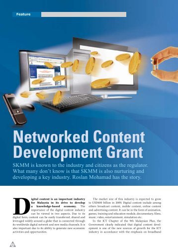 Networked Content Development Grant - my Convergence Magazine
