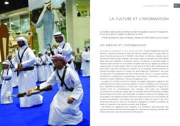 LA CULTURE ET L'INFORMATION - UAE Interact