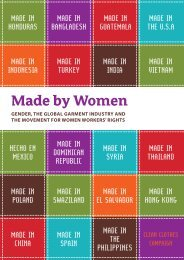 Made by Women - Maquila Solidarity Network
