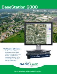 basestation 6000 features - Baseline Systems