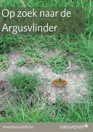 Argusvlinder - Natuurpunt
