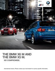 THE NEW BMW X M AND THE NEW BMW X M. - BMW.com