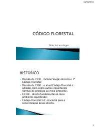 Código Florestal - Márcia Leuzinger - UniCEUB