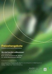 Freizeit-Programm 6. - Stiftung WOHIN