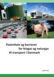 Rapport om biogas i transport