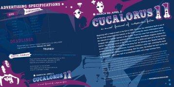 DEADLINES - Cucalorus Film Festival