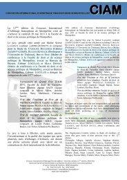 La 12ème édition du Concours International d'Arbitrage ...