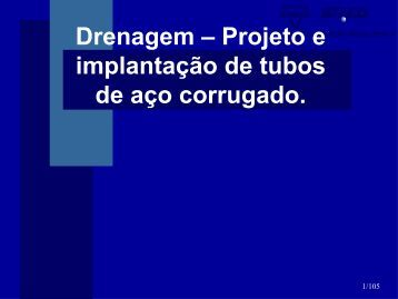 Drenagem Projeto e Implantação ARMCO STACO.pdf - DER