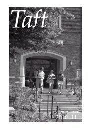 Student Handbook - The Taft School