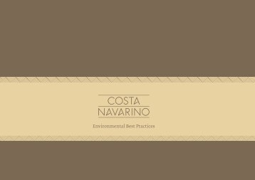 Environmental Best Practices - Costa Navarino
