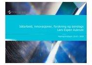 Last ned presentasjon (PDF 0.8 MB)