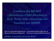 L'utilizzo del MCAST nella valutazione dei bambini con DDAI - Aidai