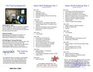 Space On Earth - Space Flight Training - Incredible Adventures