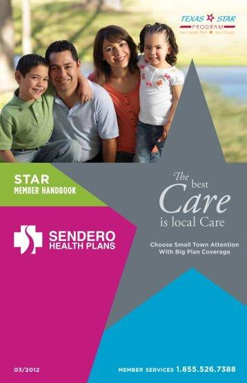 STAR Resources - Sendero Health Plans