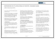 Beregning og tilskrivning af renter i Danske Bank (pdf)