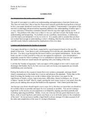 Poetry & the Cosmos Paper #1 1 GUIDELINES An ... - Union College