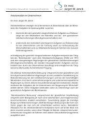 Seite als pdf-Datei zum Druck - Dr. med. Jürgen M. Jancik ...