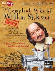 The Complete Works of William Shakespeare (abridged) Play Guide