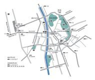 City Map with locations - diagonale 2009