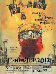 REGISTER NOW - Exhibitor Magazine