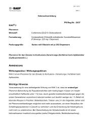 GA RAK 3 - BASF Pflanzenschutz Österreich